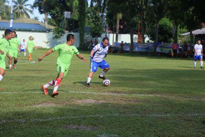 Bupati Labuhanbatu Membuka Turnamen Sepakbola U-13