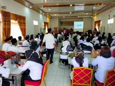 Disdik Labuhanbatu Gelar Pelatihan Calon Kepala Sekolah 2021