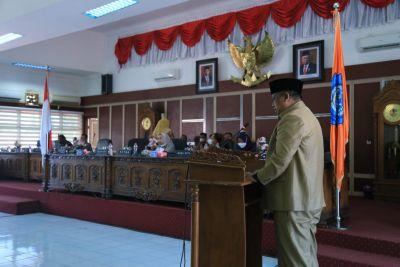 DPRD Kabupaten Labuhanbatu Setujui Ranperda Pengelolaan Keuangan Daerah Menjadi Perda