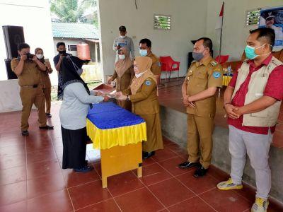 Kepala Dinas P3A Kabupaten Labuhanbatu Kukuhkan Pengurus PATBM Desa Tanjung Harapan